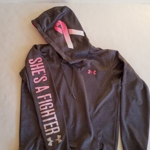 Women's Under Armour She's A Fighter Hoodie Size M
